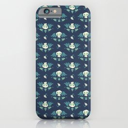 Graveyard Skulls iPhone Case