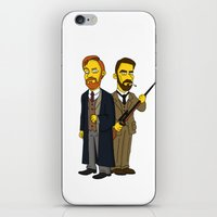 moriarty iPhone & iPod Skins featuring Moriarty & Moran by San Fernandez