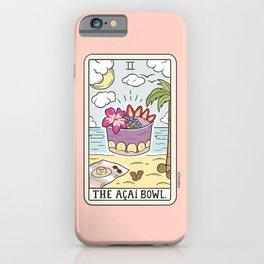 ACAI BOWL READING iPhone Case