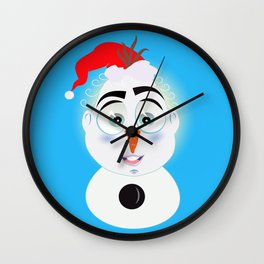 Lolo AlfsToys wants to become in Olaf Wall Clock