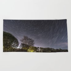 Star Trailing Beach Towel