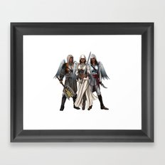 Warrior Angels Framed Art Print