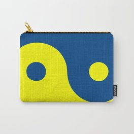 Yin Yang maize & blue Carry-All Pouch