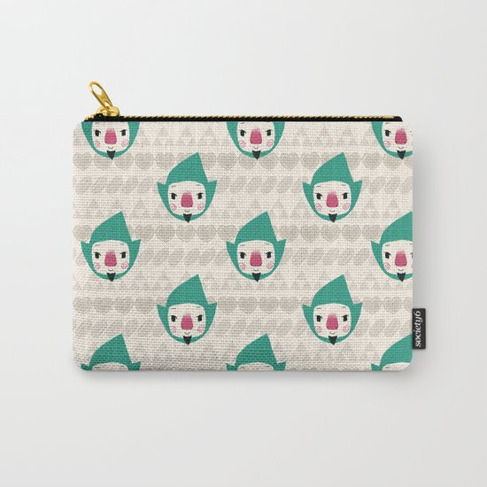 Tingle pattern Carry-All Pouch