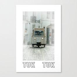 TUK TUK tramway  Canvas Print
