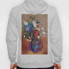 Bouquet of Flowers by Odilon Redon Hoody