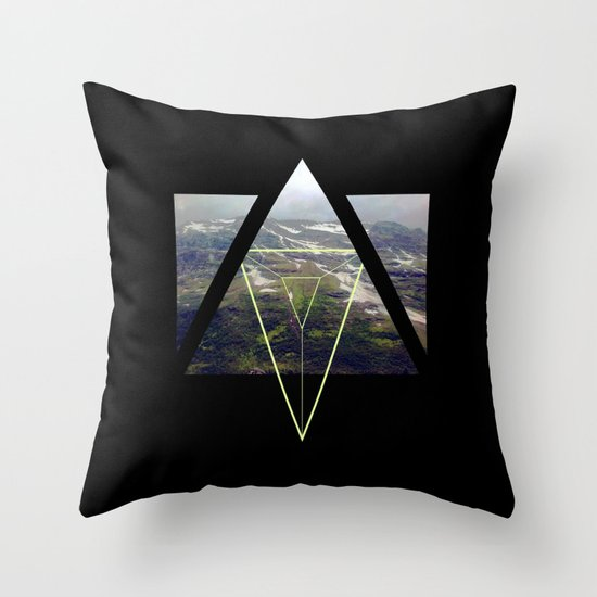 up that hill. Throw Pillow
