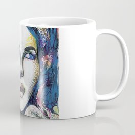 Pop Art Woman Coffee Mug