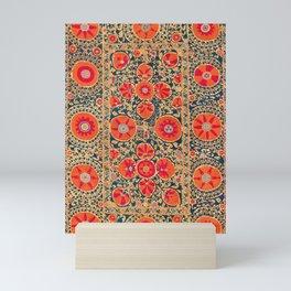 Kermina Suzani Uzbekistan Print Mini Art Print