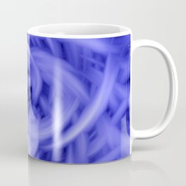 Blue Flames Coffee Mug