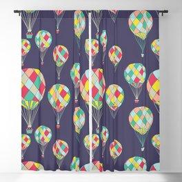 Hot Air Balloon Pattern Blackout Curtain