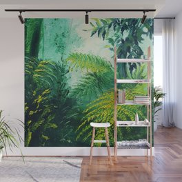 Rainforest Lights and Shadows Wall Mural