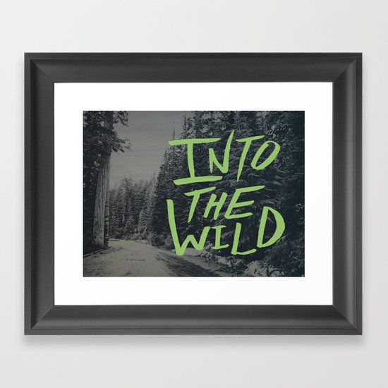 Into the Wild: Lost Lake Framed Art Print