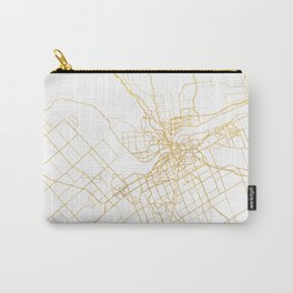 OTTAWA CANADA CITY STREET MAP ART Carry-All Pouch