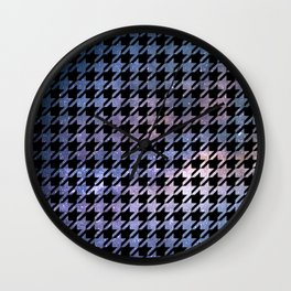 Houndstooth Nebula Wall Clock