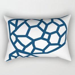Biomorphic Rectangular Pillow