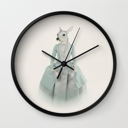sally antoinette Wall Clock
