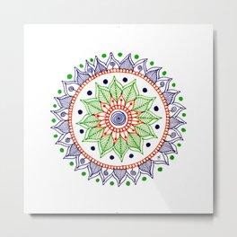 Mandala Creation #3 Metal Print