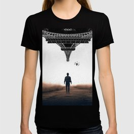 Bringing my drone to Paris by GEN Z T-shirt