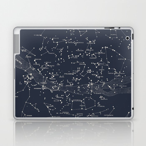 Carte du Ciel I Laptop & iPad Skin