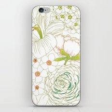 Big Blooms iPhone & iPod Skin