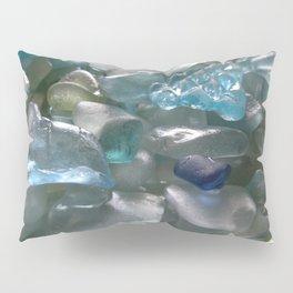 Ocean Hue Sea Glass Assortment Pillow Sham
