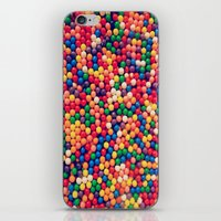 gumball iPhone & iPod Skins featuring Gumball Pop by WayfarerPrints