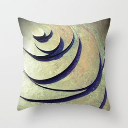 Untitled Bronze - Gouda - NL Throw Pillow