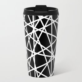 Lazer Dance B&W 1 Travel Mug