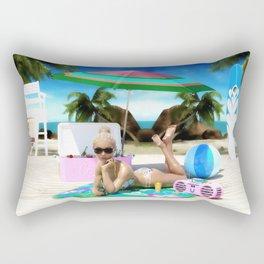 Beach Bunny Rectangular Pillow