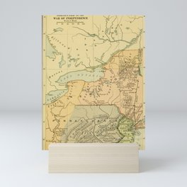 JN Larned - A History of the United States for Secondary Schools (1903) - Middles Colonies Mini Art Print