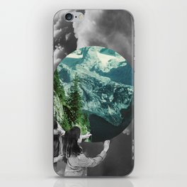 Green Melody iPhone Skin