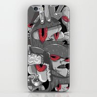 marauders iPhone & iPod Skins featuring Midday Marauders by Chent Sanchez