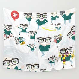 bebotestbag Wall Tapestry