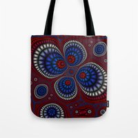 paisley Tote Bags featuring Paisley by Christy Leigh