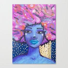 Imagine Girl Canvas Print