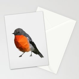 Geo - Robin Stationery Cards