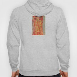 Gustav Klimt - Greek Goddess of Medicine Hygeia Hoody