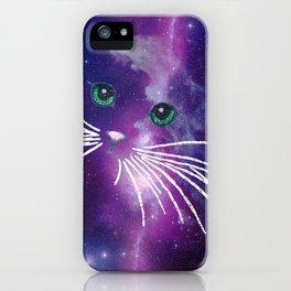 GALAXY CATGALAXY CATGALAXY CATGALAXY CAT iPhone Case