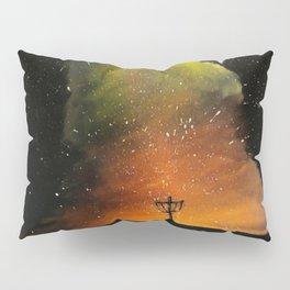 Orange Horizons Discing Pillow Sham