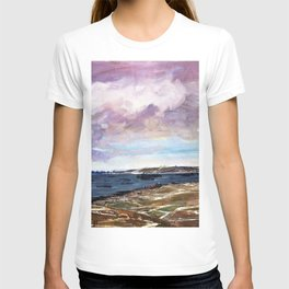 Flotta Island is in the southern entrance to Scapa Flow, with the Weddel Sound to its west T-shirt