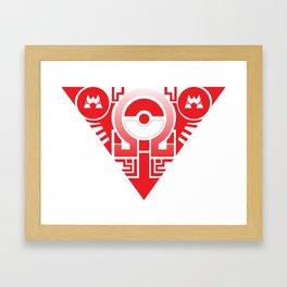 team omega ruby Framed Art Print