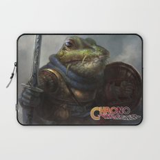 A knightly Frog  Laptop Sleeve