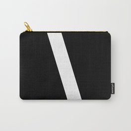 Backslash Symbol (White & Black) Carry-All Pouch