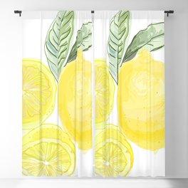 Lemons Blackout Curtain