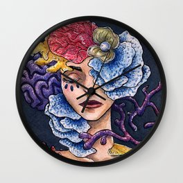 The Tides Are In Our Veins Wall Clock