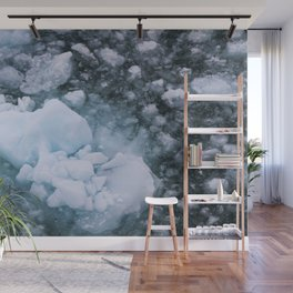 Ice And Snow Abstract Art By Nature Wall Mural