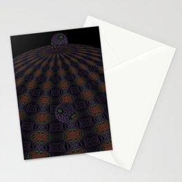 Unfitting Frame Orbitals 4 Stationery Cards