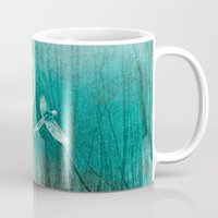 ellie goulding Mugs featuring FOREST DREAMING by Catspaws