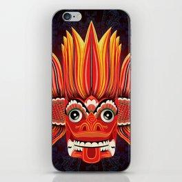 Sri Lankan Fire Demon iPhone Skin
